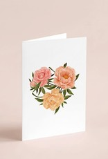 Joannie Houle Greeting card  - Peonies Love