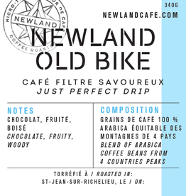 Newland Café OLD BIKE - MÉLANGE FILTRE  (Grains/Beans) - 340gr