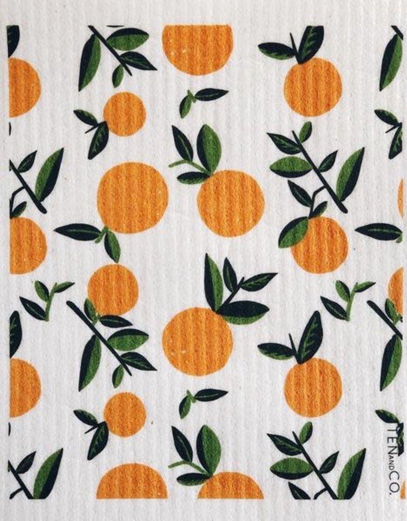 Ten and Co. Essuie-tout réutilisable - Orange