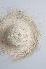 Fringed Palm Leaf Hat