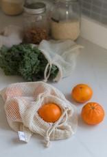 Dans Le Sac Sacs pour Fruits et Légumes - Ensemble de 3