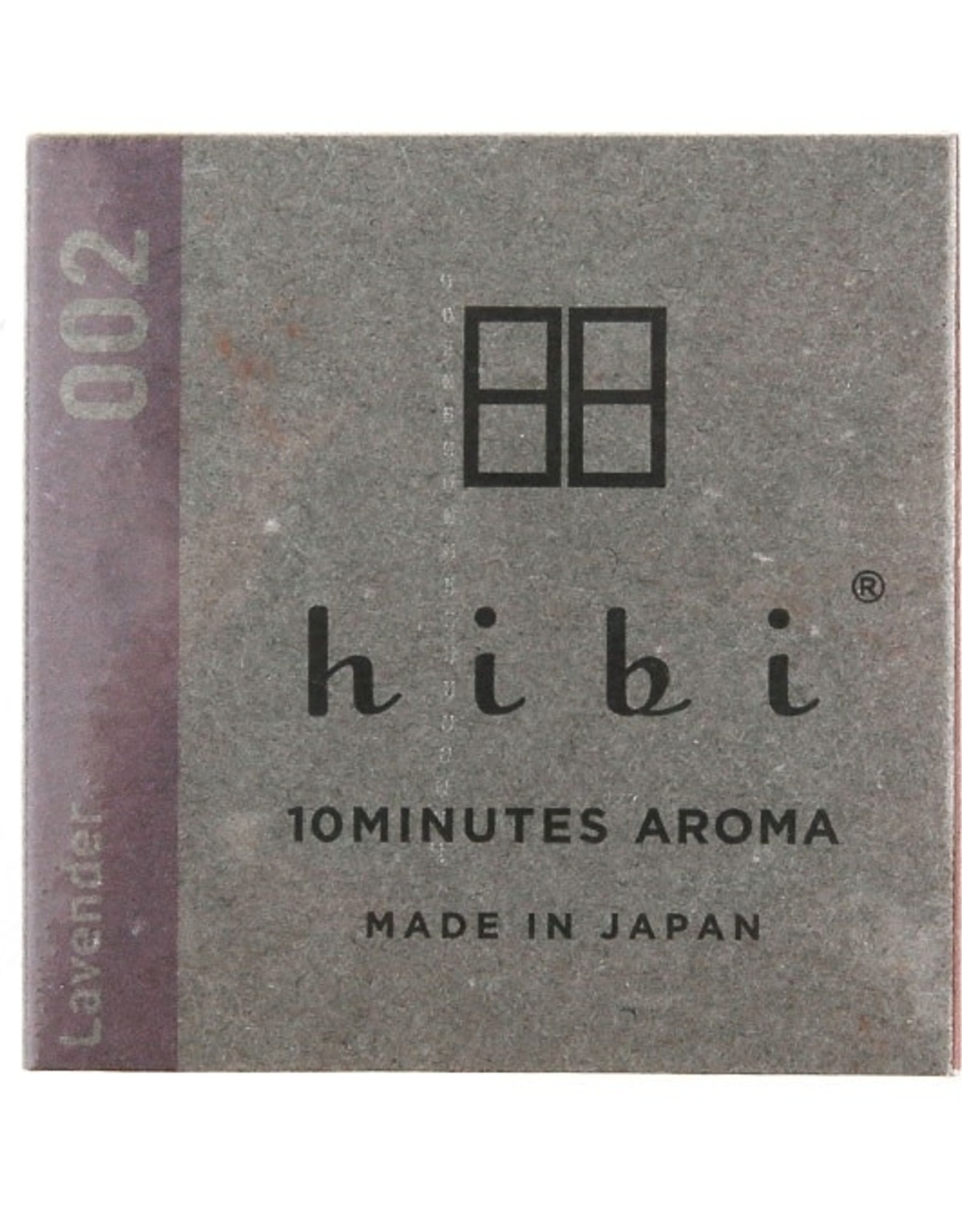 Hibi Regular Box 8 Sticks - Lavender