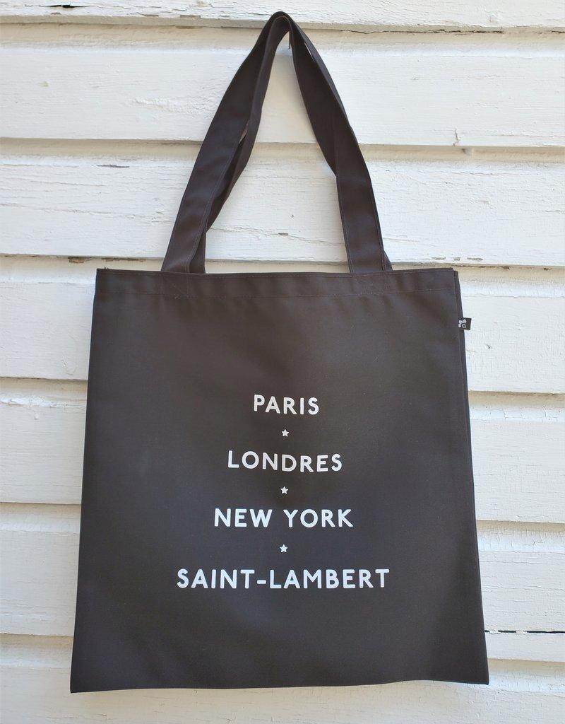 Julia Fabry - Les Imprimés du Quartier Tote Bag - Saint-Lambert
