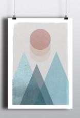 Toffie L'Affichiste Poster Soft Landscape