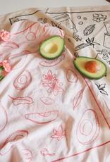 Fleur Maison Avocado Scarf