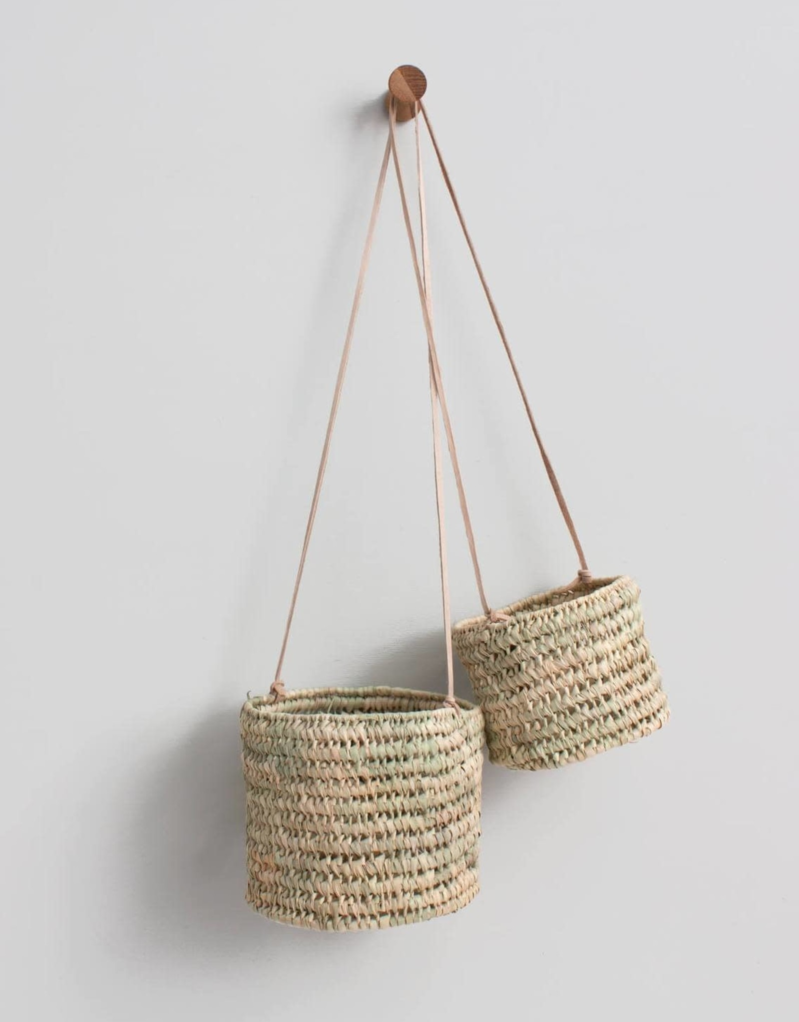 Open Weave Hanging Basket - Large