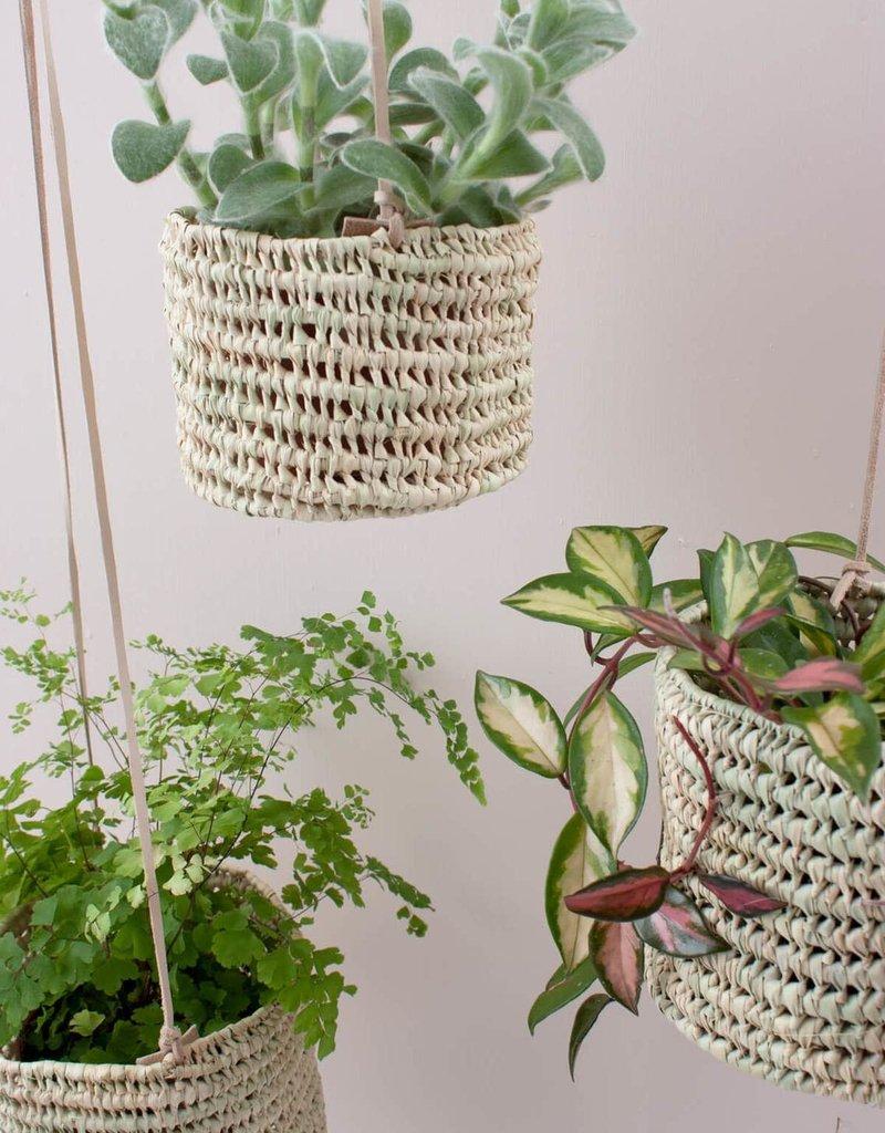 Open Weave Hanging Basket - Large