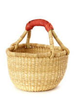 Bolga Natural Baby Basket