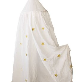 Round Cotton Canopy with Stars