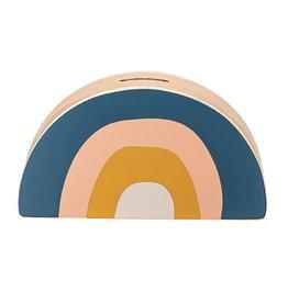 Wood Rainbow Bank-Multi Color