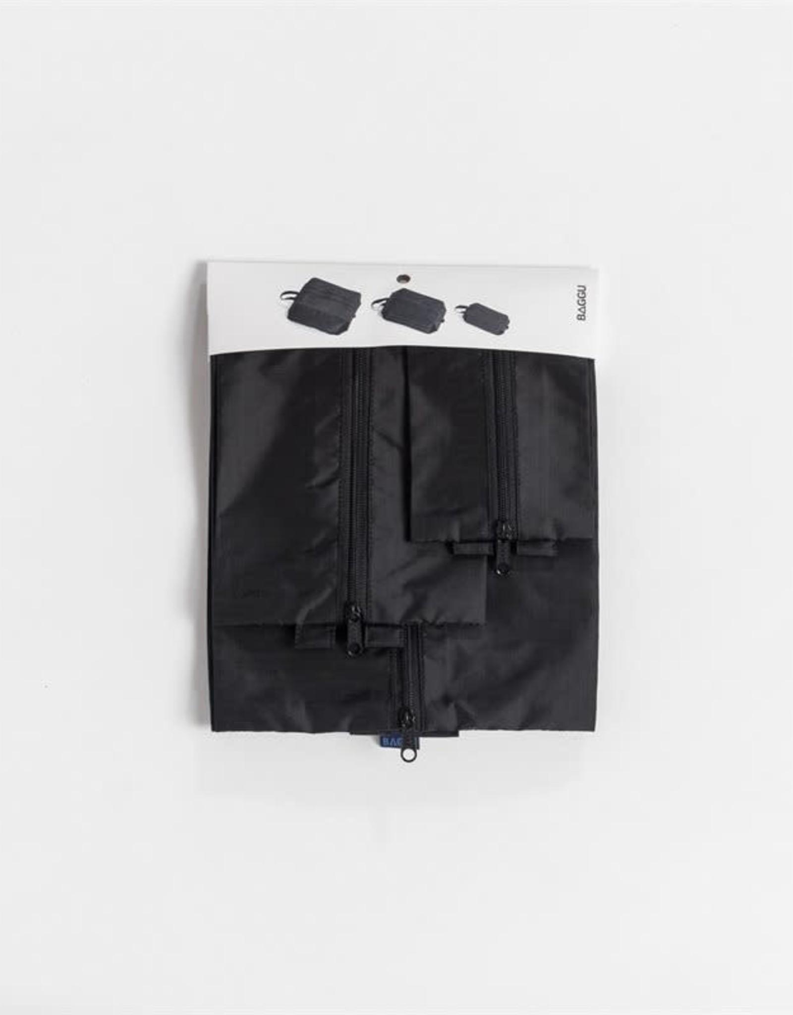 Baggu 3D Zip Set - Black