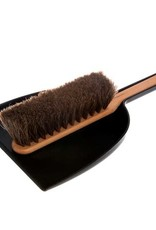 Iris Hantverk Dustpan and Brush Set - Black