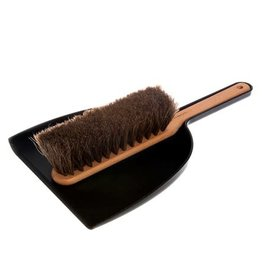 Iris Hantverk Dustpan and Brush Set - Black
