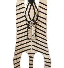 Wool Felt Zebra Rug