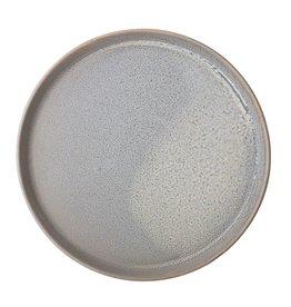 Assiette Ronde Grès - Gris Mat - 10-3/4''