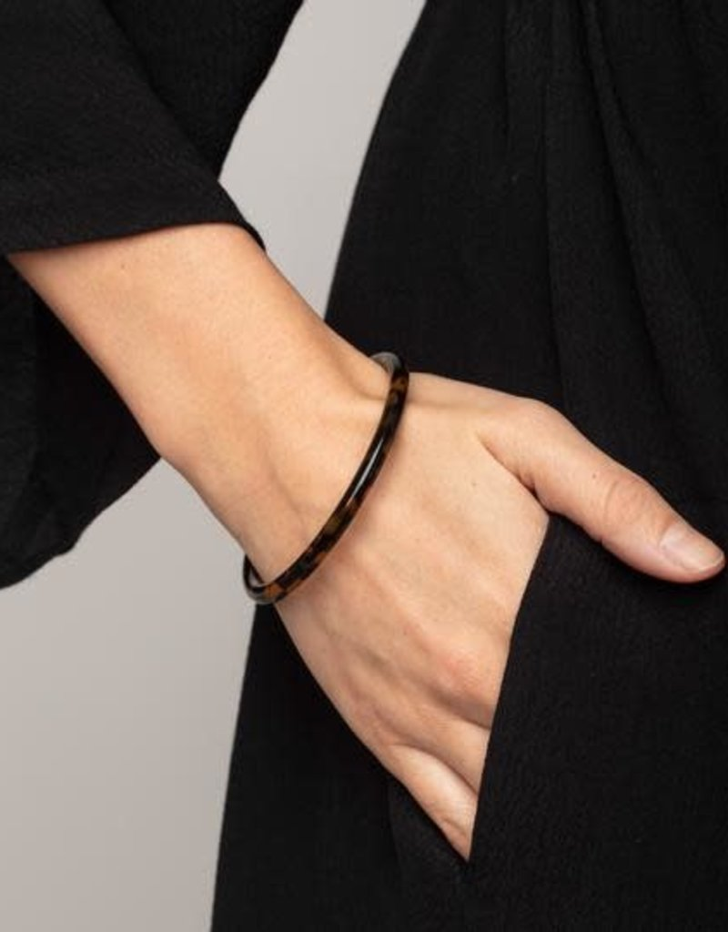 Pilgrim Bracelet Cyra - Écaille Tortue Brun