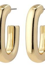 Pilgrim Rán Chunky Hoops - Gold