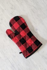Hot Mitt - Red & Black Buffalo Check