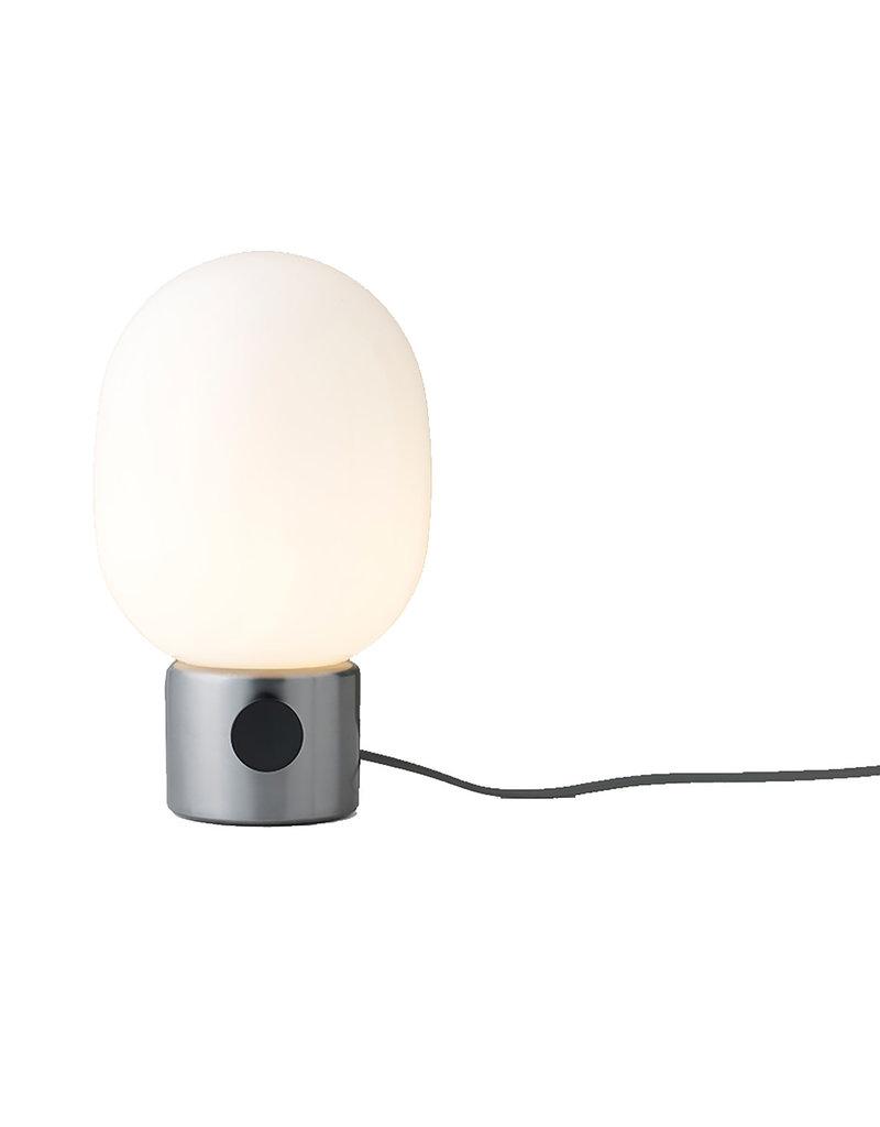 Menu JWDA Lampe de Table, Acier Brossé