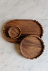 Rekindle All Plate  Walnut - Small