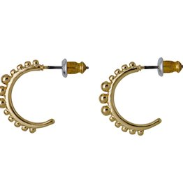 Pilgrim Boucles D'oreilles Bluebell - Or