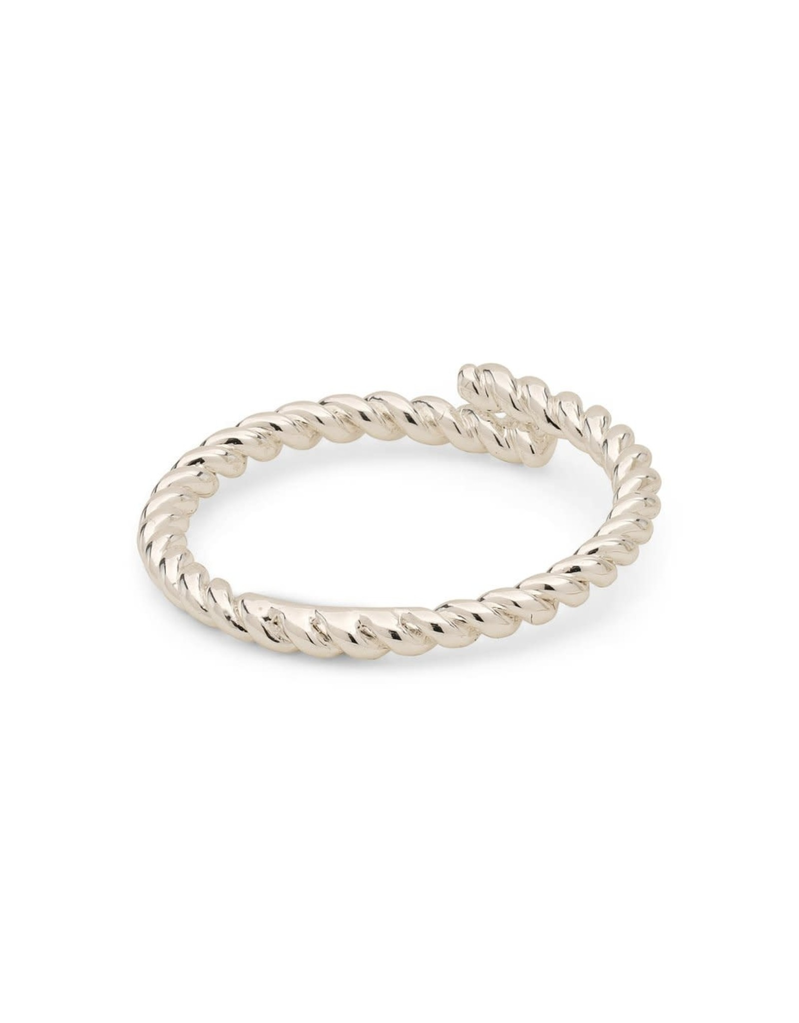 Pilgrim Ring Lulu Twist Adjustable - Silver