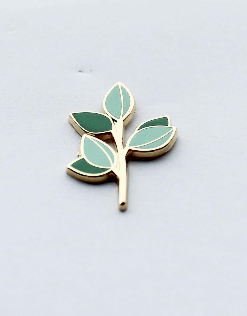 Hemleva Épinglette - Branche d'Eucalyptus