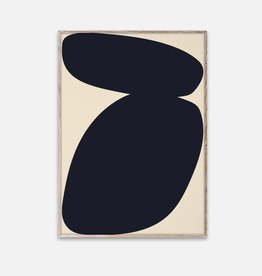 Paper Collective Nina Bruun - Affiche Solid Shapes 03 - 50cmx70cm