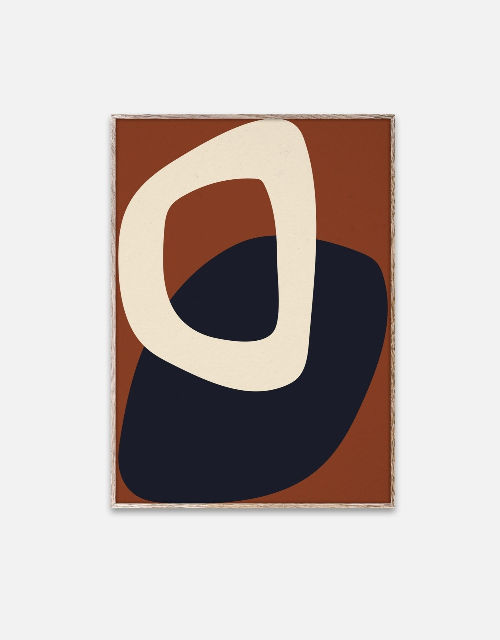 Nina Bruun - Solid Shapes 02 - 30cmx40cm