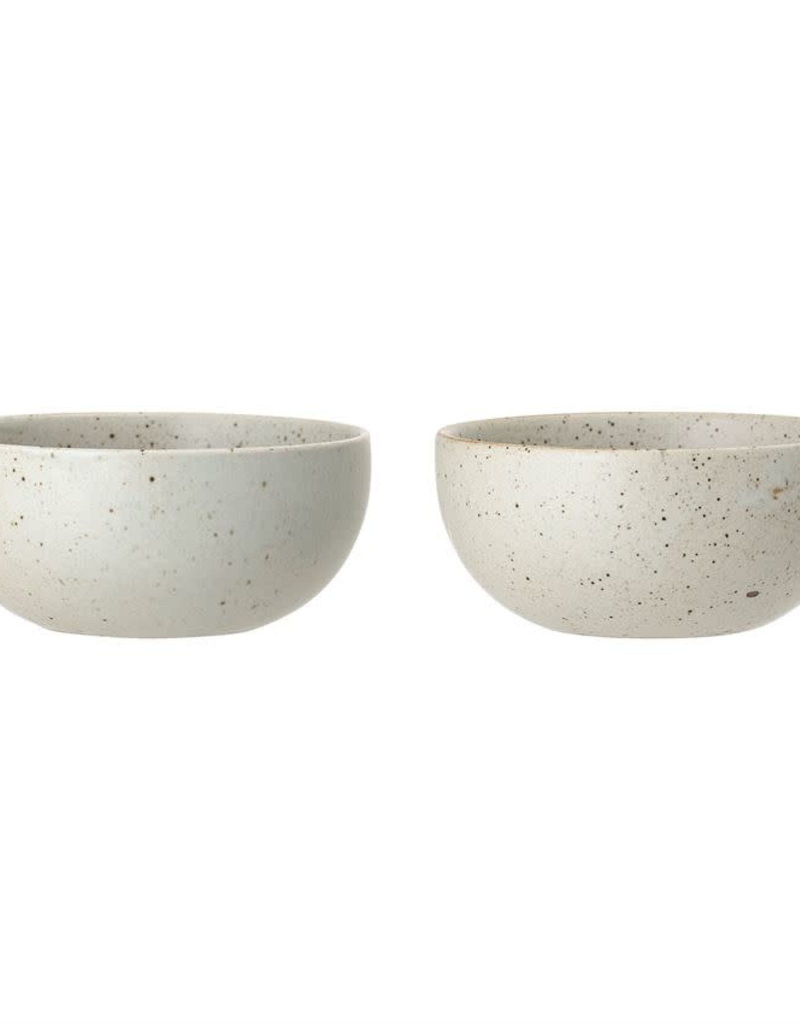 Stoneware Bowl - 5-3/4''Round - 2 colors - Each one will vary