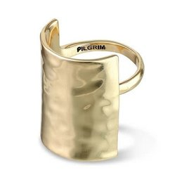 Pilgrim Yggdrasil Adjustable Ring - Gold Plated