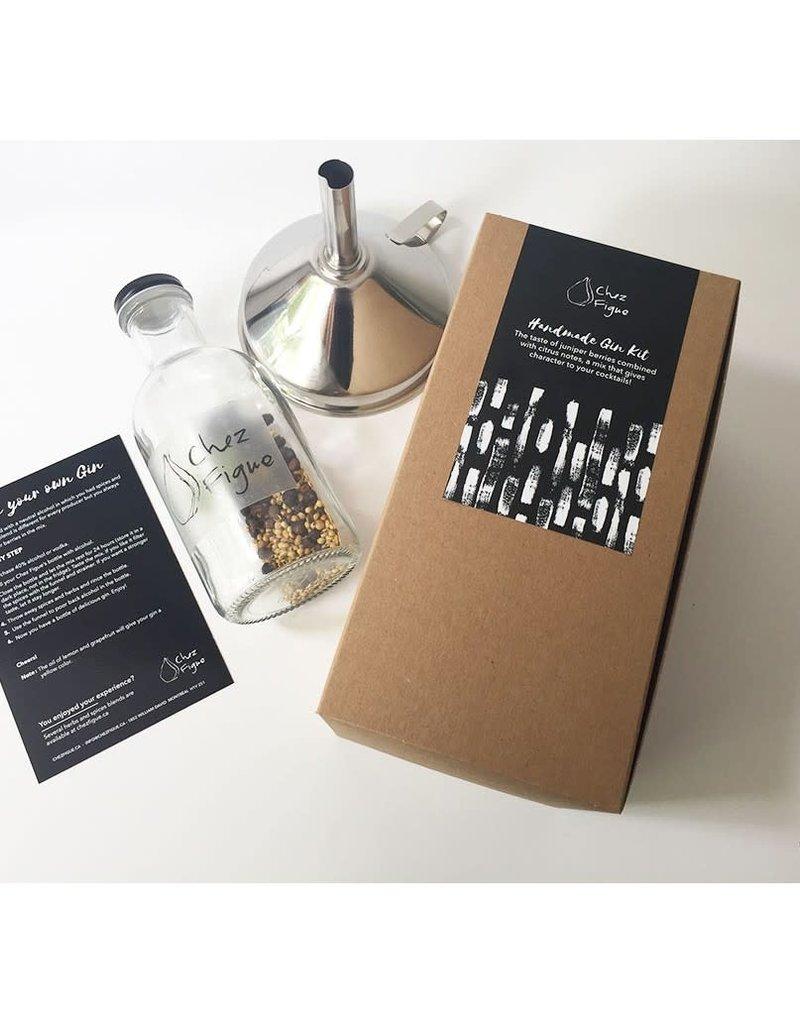 Chez Figue Kit de Fabrication de Gin Maison