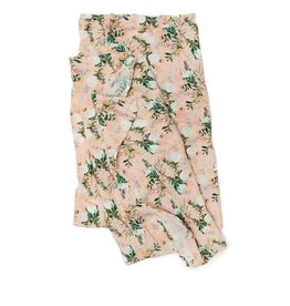 Loulou Lollipop Muslin Swaddle - Blushing Protea