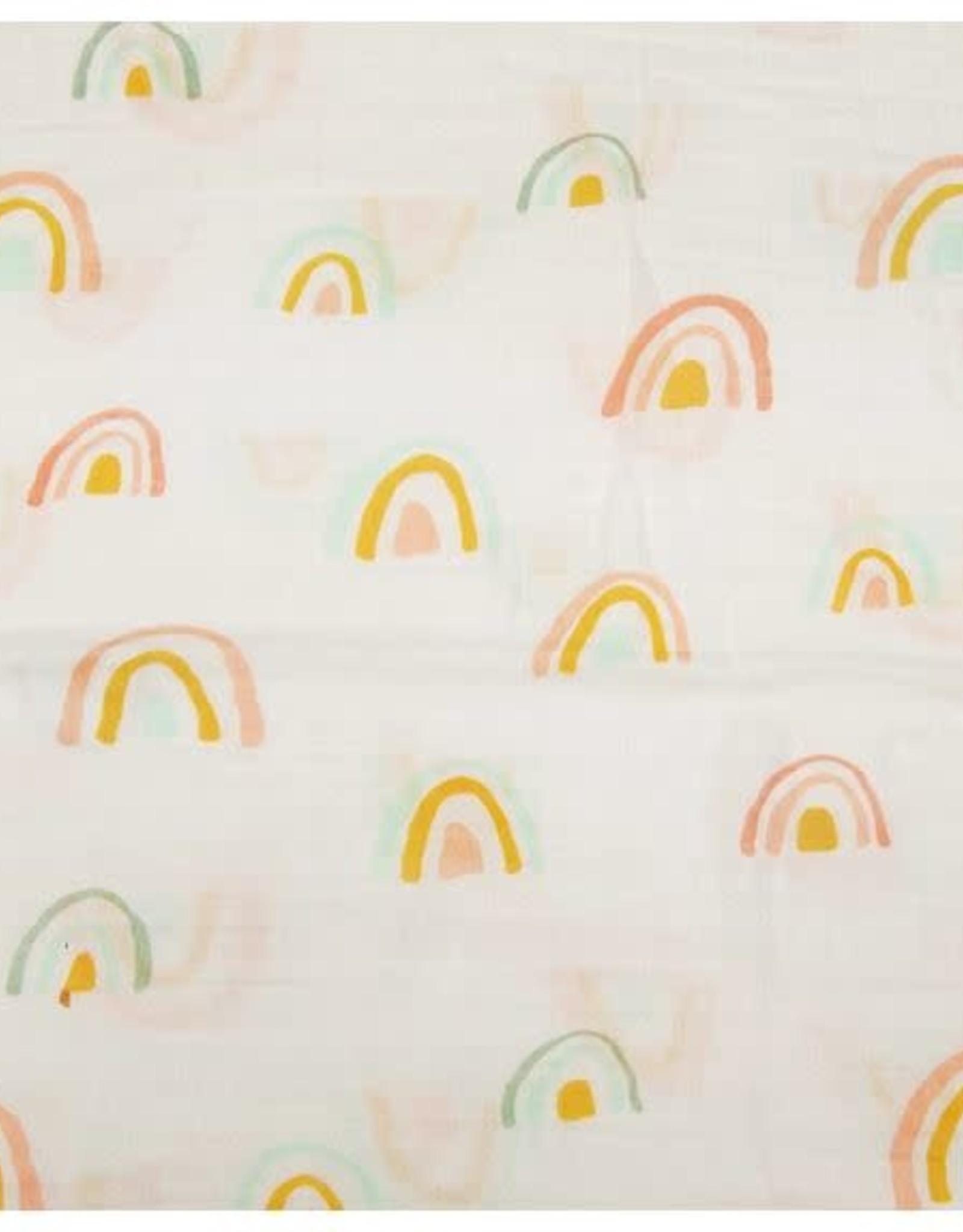 Loulou Lollipop Couverture d'Emmaillotage - Arc-En-Ciel