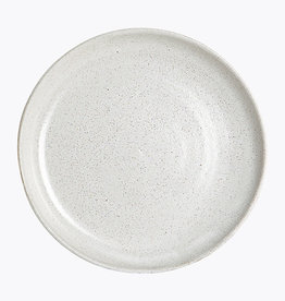 House Doctor Ceramic Plate - White