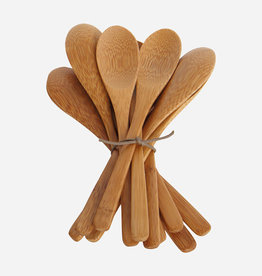 House Doctor Medium Bamboo Spoons - Set of 12