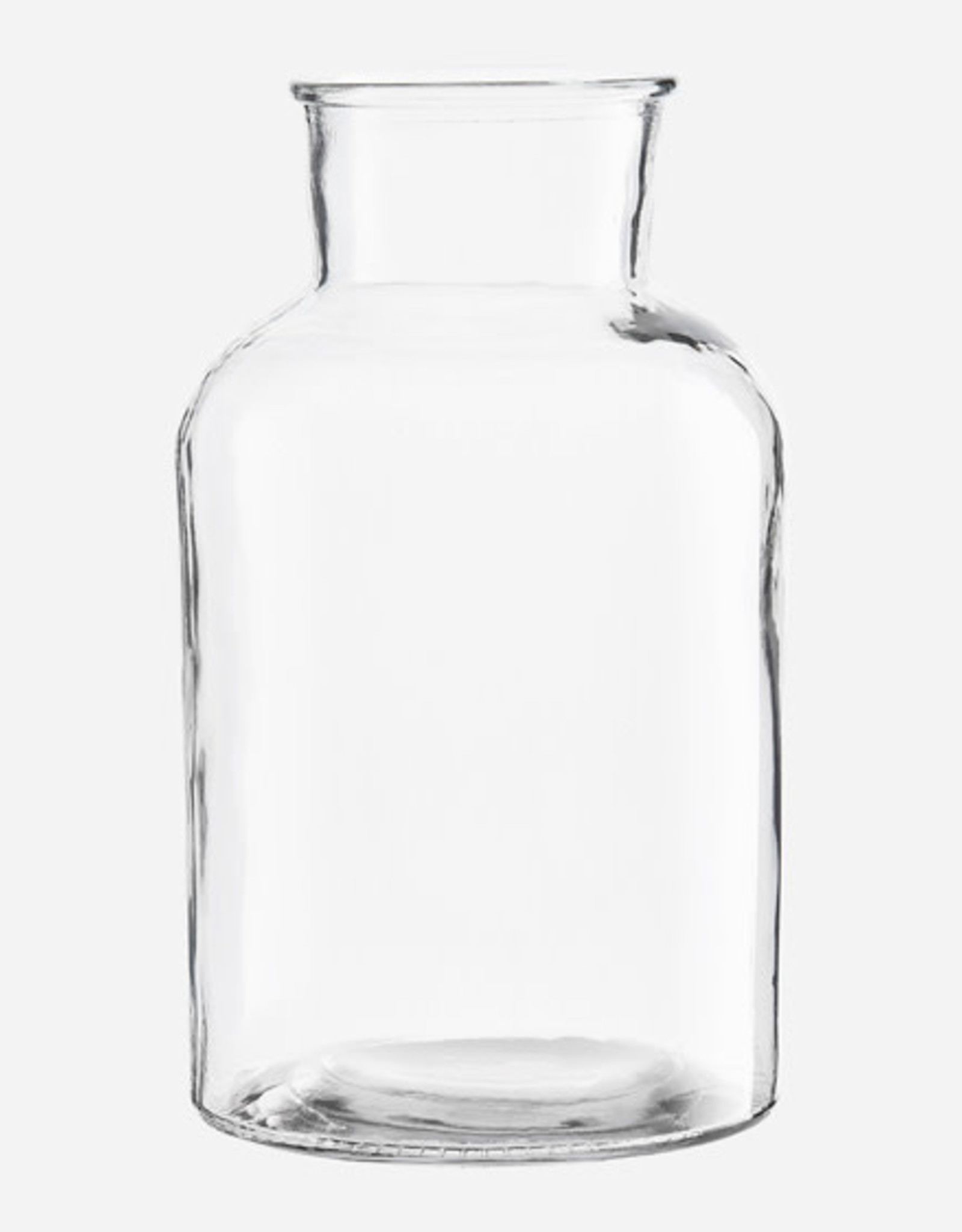 House Doctor Clear Glass Vase