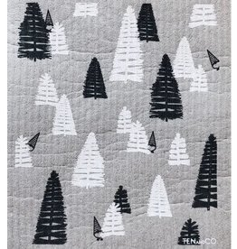 Ten and Co. Sponge Cloth - Woods Grey