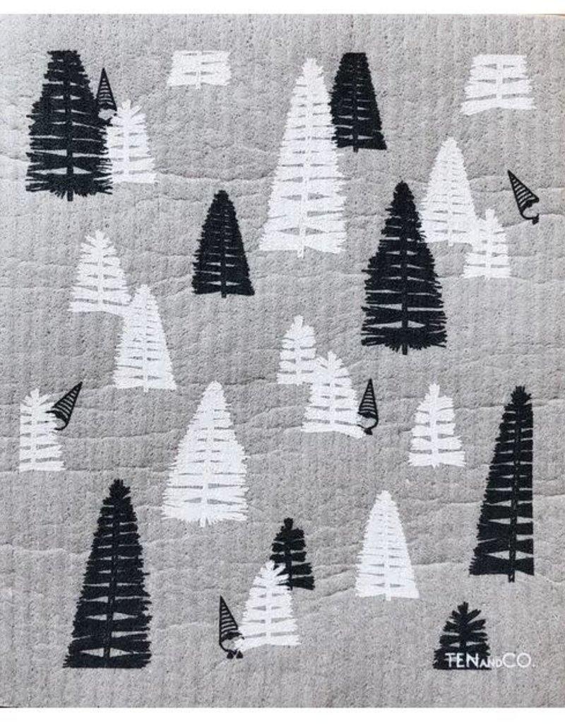 Ten and Co. Sponge Cloth - Woods Grey