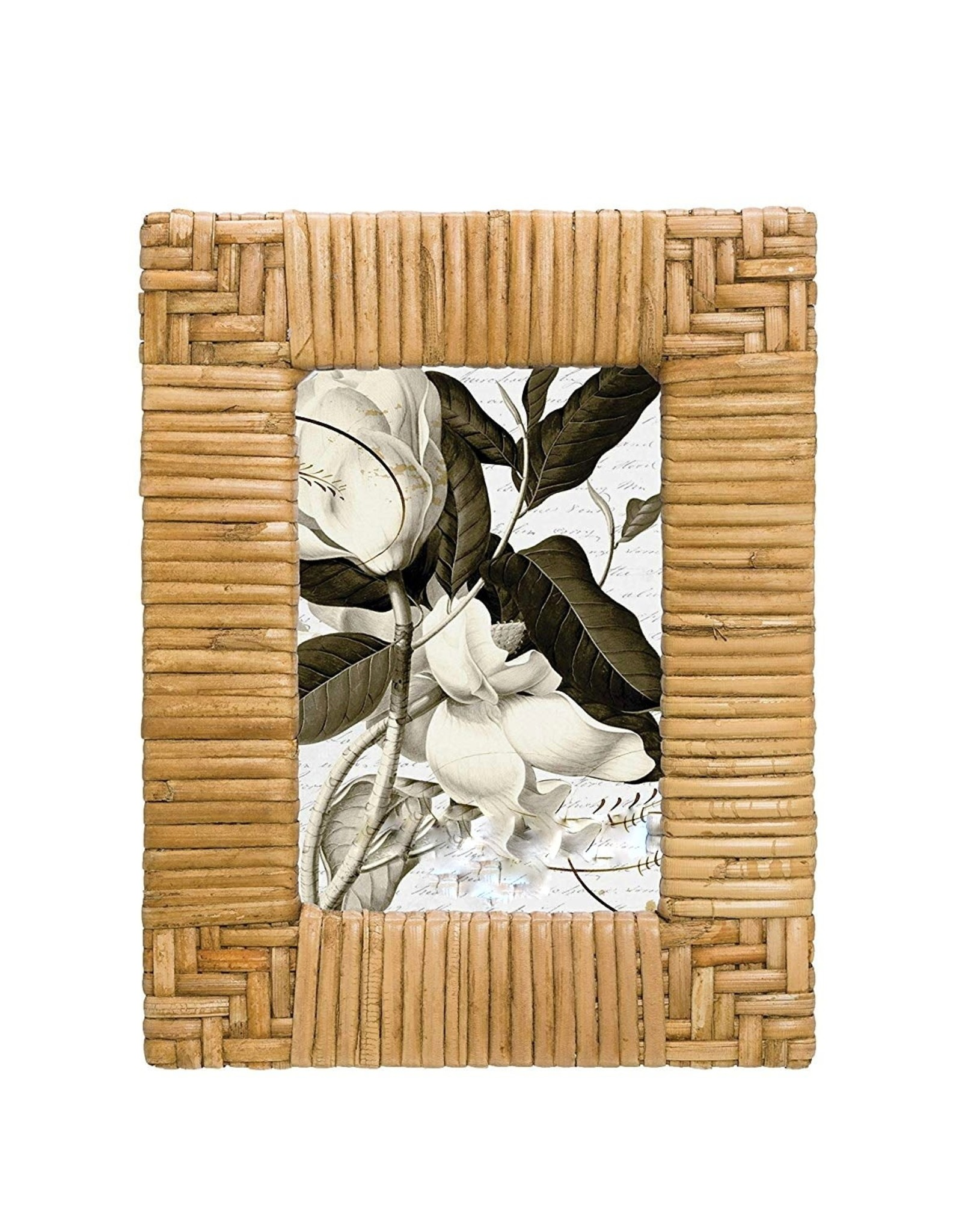 Rattan Photo Frame (for 4''x6'' Picture)