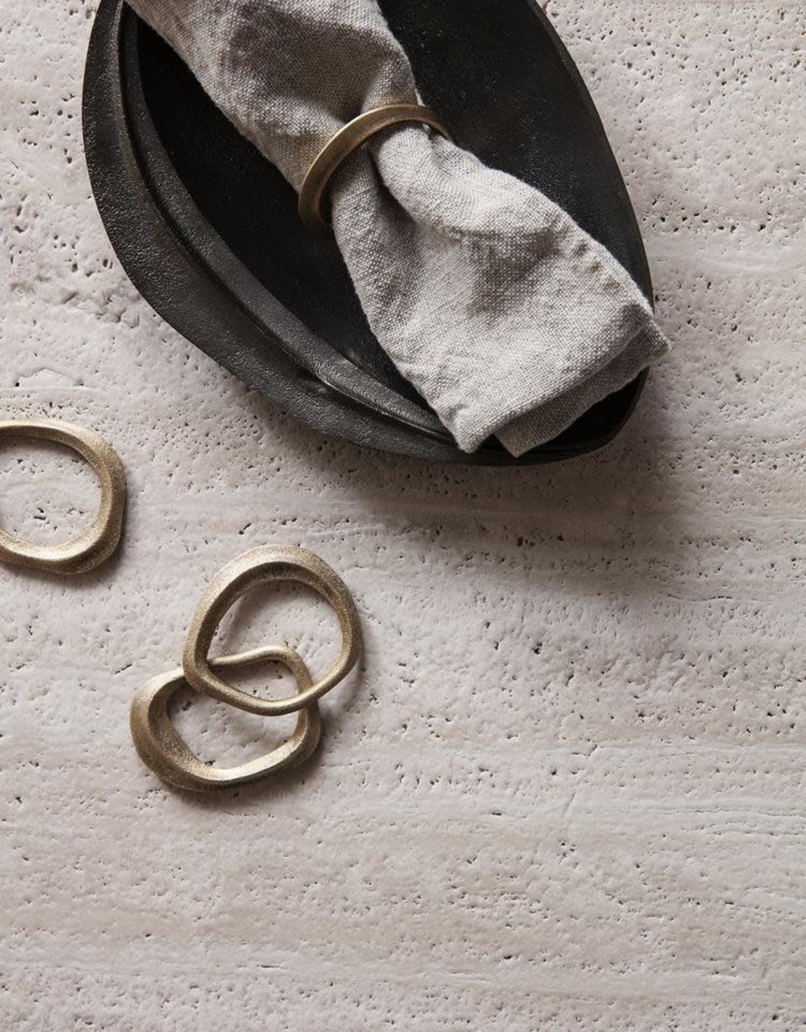 Ferm Living Flow Napkin Rings - Set of 4