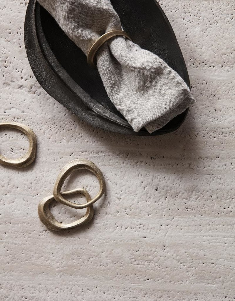 Ferm Living Flow Napkin Rings - Set of 4