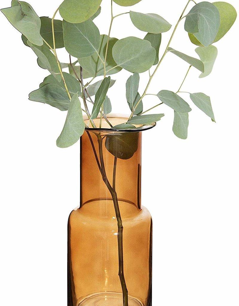 Vase en verre - Ambre