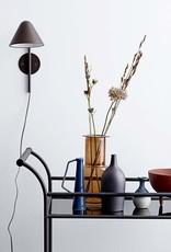 Glass Vase - Amber