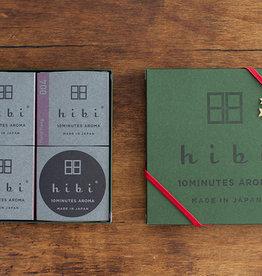 Hibi La Boîte Cadeau Spéciale avec Assortiment de 3 Fragrances (Édition Limitée)
