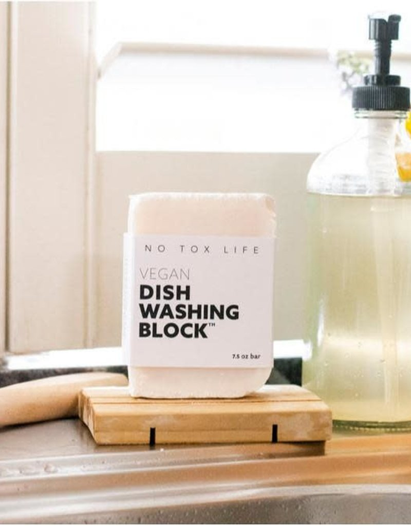 No Tox Life Bloc de savon végétalien pour lave-vaisselle