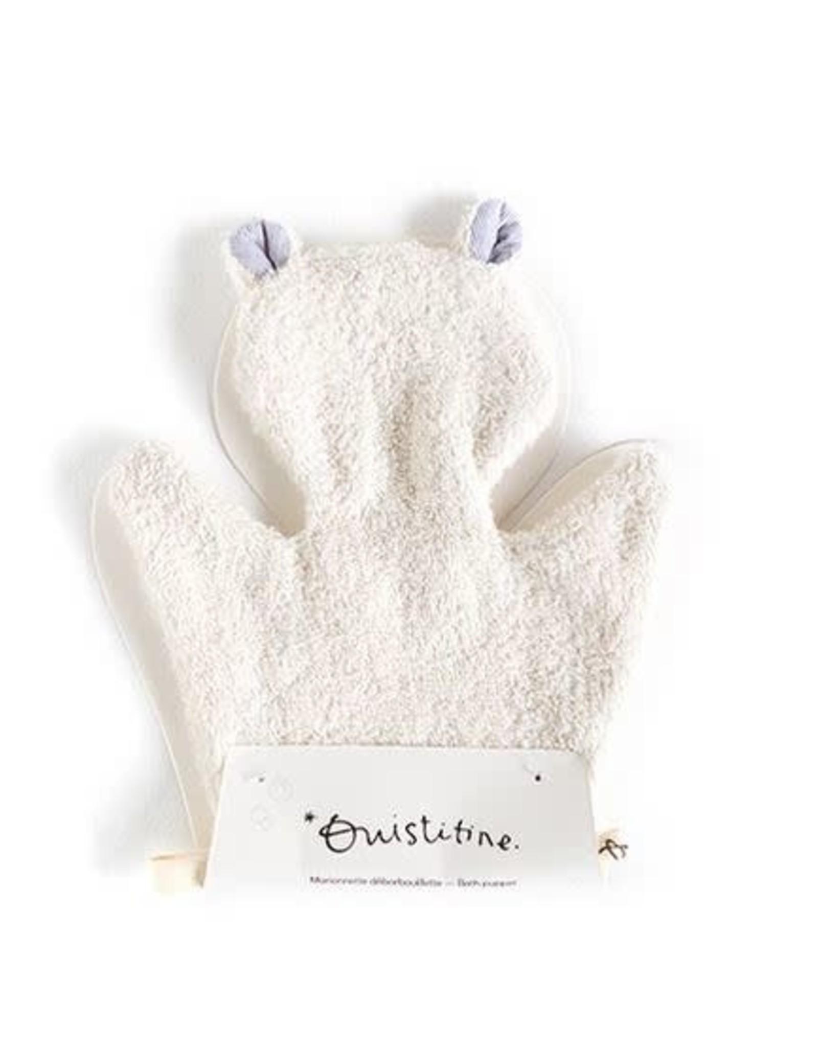 Ouistitine Bath Puppet - Cat