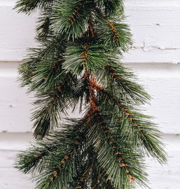 Forest Frosted Garland Green - 6'Long