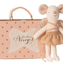 Maileg Ange gardien dans sa valise, Petite soeur souris