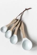 Porcelain Measuring Spoons - Set of 4